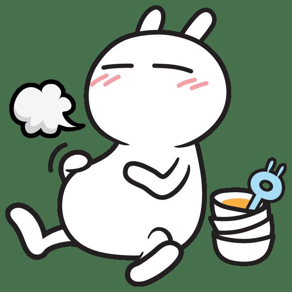 Tuzki kenyang